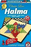 Schmidt Spiele 49217 49217-Classic Line-Halma, mit extra großen Spielfiguren, bunt