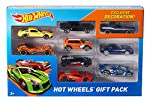 Speed into an instant Hot Wheels collection with a race-ready pack that features nine highly detailed die-cast vehicles. Hot Wheels 9-car packs deliver nine of the coolest 1:64 scale die-cast vehicles with exclusive decorations. Ideal gifts for kids ...