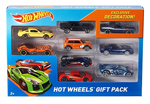 Mattel X6999 - Hot Wheels 9-er Pack, Geschenkset