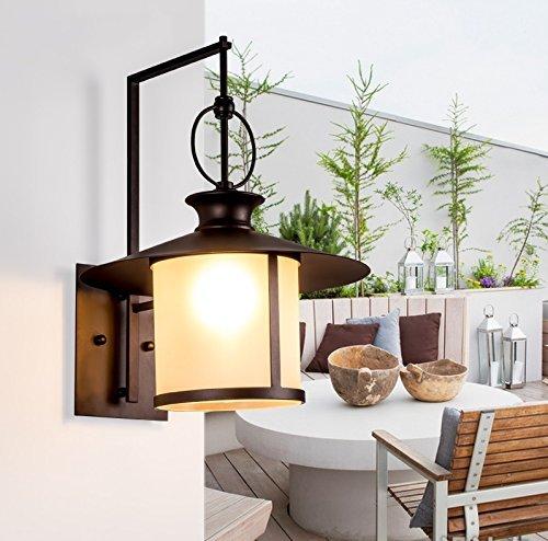 KYDJ Lampe Murale exterieur Etanche personnalité créatrice intérieure Protection solaire Lampe Murale chevet chambre à coucher