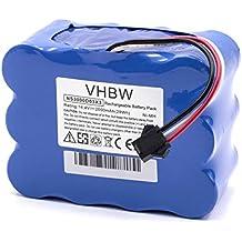 vhbw NiMH batería 2000mAh (14.4V) para robot limpiasuelos robot autónomo de limpieza Toposun