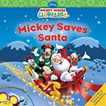 [( Mickey Saves Santa [With Sticker(s)] (Disney Mickey Mouse Clubhouse) [ MICKEY SAVES SANTA [WITH STICKER(S)] (DISNEY MICKEY MOUSE CLUBHOUSE) ] By Higginson, Sheila Sweeny ( Author )Sep-01-2009 Paperback By Higginson, Sheila Sweeny ( Author ) Paperback Sep - 2009)] Paperback