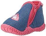 Playshoes Unicorno P, Pantofole Bambina, Blu (Jeansblau 3), 26/27 EU