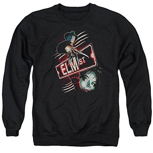 Nightmare On Elm Street - - Elm St Pullover für Männer, X-Large, Black