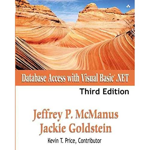 [(Database Access with Visual Basic.Net)] [By (author) Jeffrey P. McManus ] published on (February, 2003)