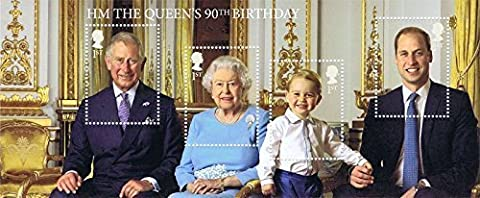 2016 The Queen's 90th Birthday Miniature Sheet No.116 - Royal Mail Stamps by Royal Mail