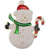 Xmas Decoration Pin Pupazzo Di Neve Spilla Per La Festa Di Natale Favore Regalo Colorato - Pupazzo Pin Spilla