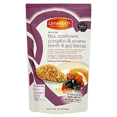 Linwoods Milled, Flaxseed, Sunflower, Pumpkin, Sesame Seeds & Goji Berries 425g by Linwoods