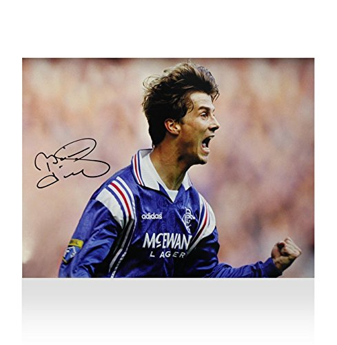 Brian-Laudrup-Signed-Rangers-Photo