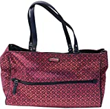 Tommy Hilfiger Purse Handbag Signature Shopper II Tote Red