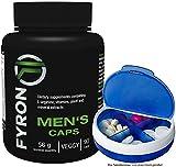 FYRON MENs - Fruchtbarkeit | Testosteronspiegel | Sperma + Pillen Dose