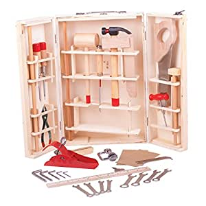 bigjigs toys bo te outils enfant jeux et jouets. Black Bedroom Furniture Sets. Home Design Ideas