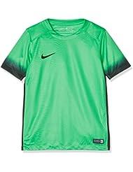 Nike Niños Laser III Printed manga corta camiseta, invierno, infantil, color Hyper Verde/Black, tamaño L