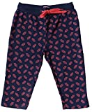 #9: PrachiCreation Girls Printed Capri Pant-Inter Lock Fabric-100% Cotton-Two Side Pockets