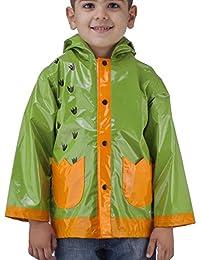 Little Boy's Dinosaurs Green Raincoat (Toddler / Little Kids)