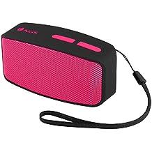 NGS Pink Roller Fun - Altavoz Bluetooth con micrófono, color rosa