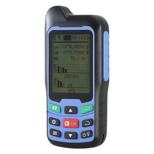 BEVA Handheld GPS GLONASS Beidou (Land Bereich Trail Messgerät, Display Messwerte, Figur Track und automatisch berechnen Preis Messung (inklusive Batterie)