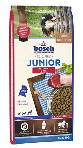 Bosch Junior Croquette Agneau/Riz pour Chiot 15 kg