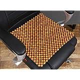 cuentas de madera amortiguador del coche hecho a mano alfombras de coche pequeño cojín amortiguador cuadrado de verano de verano , 2