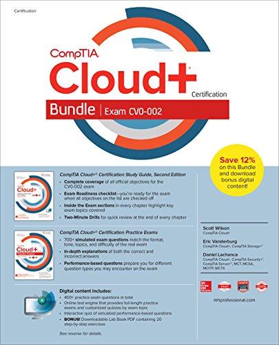 CompTIA Cloud+ Certification Bundle (Exam CV0-002)