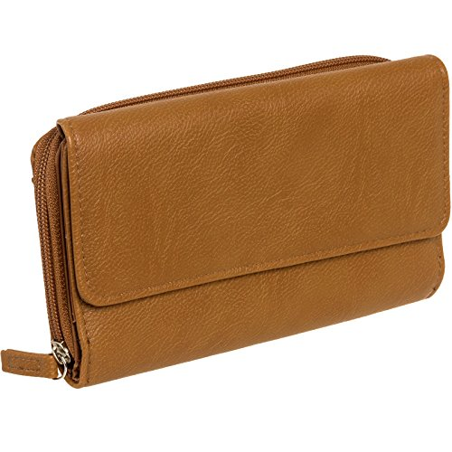 mundi-big-fat-womens-rfid-blocking-wallet-clutch-organizer-with-coin-pocket-brown
