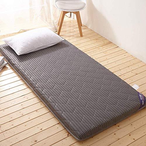 AA-mattress Chuang Atmungsaktive Tatami-Fußboden-Futon-Matratze, verdicken Schlafmatratzen-Deckel-Matten-Auflage-Abdeckungs-japanische Bett-Rolle für Studentenwohnheim-Haus (Futon-matratze-abdeckung)