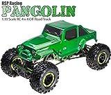 MODELTRONIC Coche RC Crawler HSP 1:10 Pangolin LIPO 4 Ruedas direccionales/Batería LIPO/Todo...
