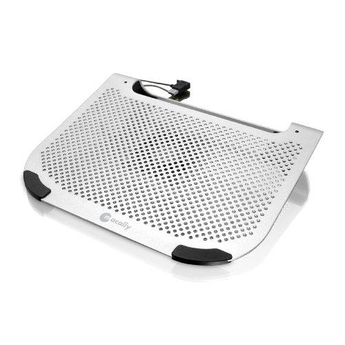 Macally Aluminium-Unterlage zur Kühlung von Notebooks bis 38,1 cm (15 Zoll)