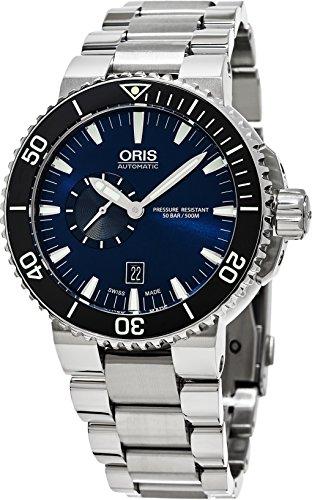 Oris Aquis Fecha reloj para hombre 743–7673–4135MB
