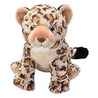 Wild Republic 19355 Leopard Cub Plush Soft, Cuddlekins Cuddly Toys, Gifts for Kids 30 cm