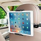 SUCESO Supporto Tablet Auto Supporto Poggiatesta per Auto Supporto Smartphone per Auto Rotazione a 360 Gradi Porta Tablet Auto Universale,Supporto per iPad Pro Mini Air,Phone,Samsung Tab,Huawei-Nero