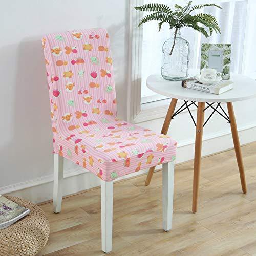 Sishe Stuhl Silpcover Elastischer Stuhlbezug für Haushalt Hoteltisch Stuhlüberzug Stoffbezug Sitzhocker-C by (Farbe : C)