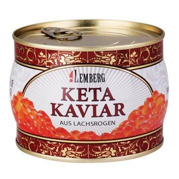 Kaviar Keta Lemberg 500g aus Lachsrogen