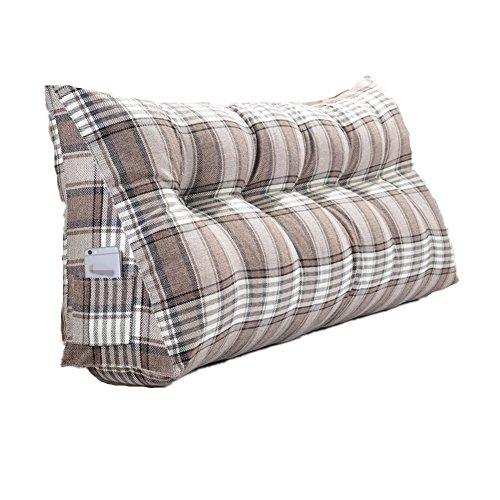 GR cushions house Dreieck KissenLuxusbett Schlaf Keil Kissen Kissen, abnehmbar und waschbar, Stütze und Hilfe mit saurem Reflux - Ideal zum Lesen und Entspannen (größe : 90 * 50 * 20cm) - Schlaf-keil-kissen