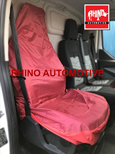 hyundai-sante-fe-06-12-heavy-duty-single-driver-red-waterproof-seat-cover