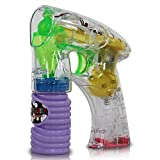 Seifenblasen Pistole mit LED Strahl Seifenblasenpistole mit Licht NEU OVP