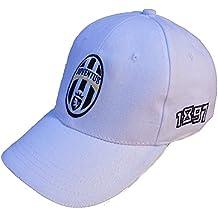 CAPPELLO CAPPELLINO JUVENTUS UFFICIALE JUVE CAP con VISIERA (BIANCO 523a1a03a056