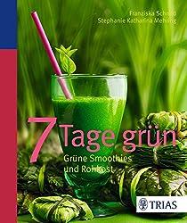 7 Tage grün: Grüne Smoothies und Rohkost