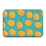 dewdferf Non-Slip Doormat Cute Pineapple Durable Mats rug Bathroom Bedroom Floor Carpet