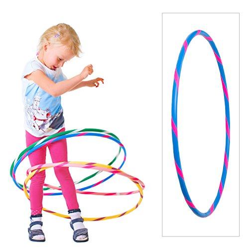 Preisvergleich Produktbild Bunter Kinder Hula Hoop Reifen in Hellblau-Pink