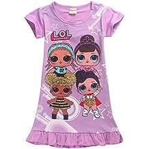 Vannie Bambole Sorpresa Bambine Abiti Pigiama Camicia da Notte Grembiule Gonna  da Principessa Abiti da Sera 8a42fb8b4f2