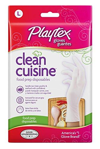 Playtex 06408 Saubere K-che Einweg-Handschuhe - 30 Count - Gro-e Packung mit 8