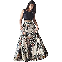 Lovisa Fashion Women's Spandex Lehenga choli (Multicolour_)
