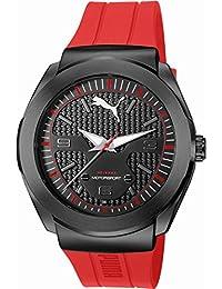 Puma Time Herren-Armbanduhr Roadster Analog Quarz Kautschuk PU103931001