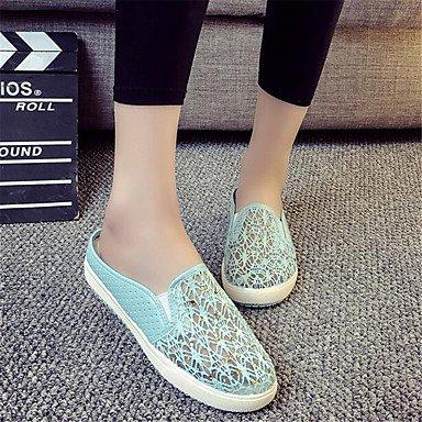 RTRY Donna Sneakers Comfort Pu Molla Canvas Informale Comfort Piatto Bianco US5.5 / EU36 / UK3.5 / CN35