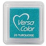 versasmall VersaColor Stempel Stempelkissen klein Cube 25× 25mm Pigment Türkis