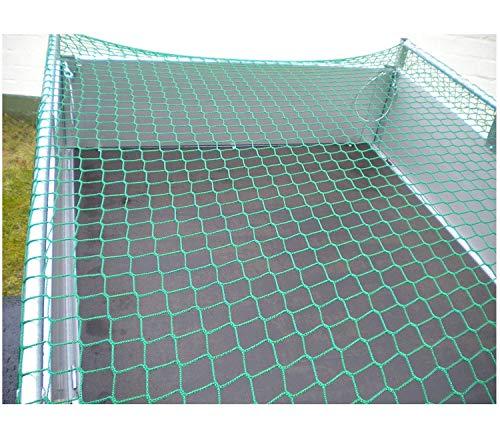 ZGQSW Haustier-Treppe-Balkon-Sicherheitsnetz Der Kinder, Nylonseil-Anhänger-Netz, Swimmingpool-Anti-Fall-Netz-Bett-Geländer-Schwingen-Hängematte Mit Kabelbinder 2x3m (Size : 1 * 9m(3 * 29ft))