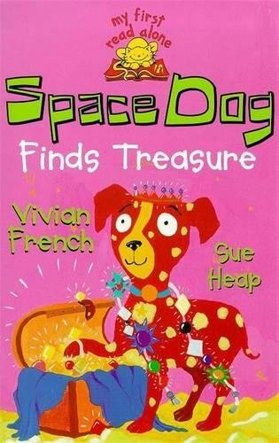 Space Dog finds treasure