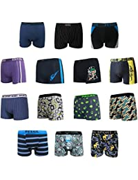 Boxers caleçons respirables en coton pour hommes - sous vêtements Mix Couleur/Style - Lot de 5-7