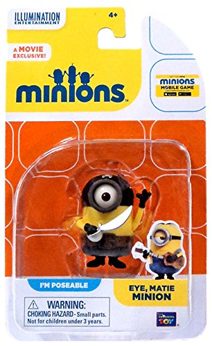 Thinkway Despicable Me Minions Movie Eye, Matie Minion 2 (20220) by 1
